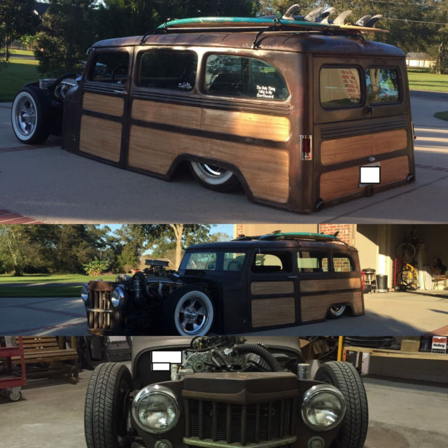 1961 Jeep Wagon Woody For Sale
