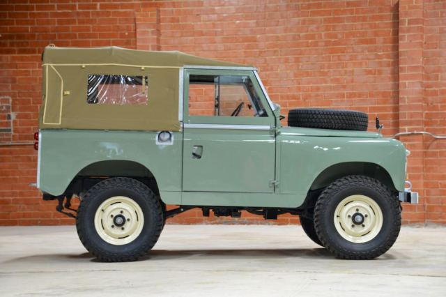 1961 land rover series ii 88 lhd for sale land rover defender 1961 for sale in charlotte. Black Bedroom Furniture Sets. Home Design Ideas