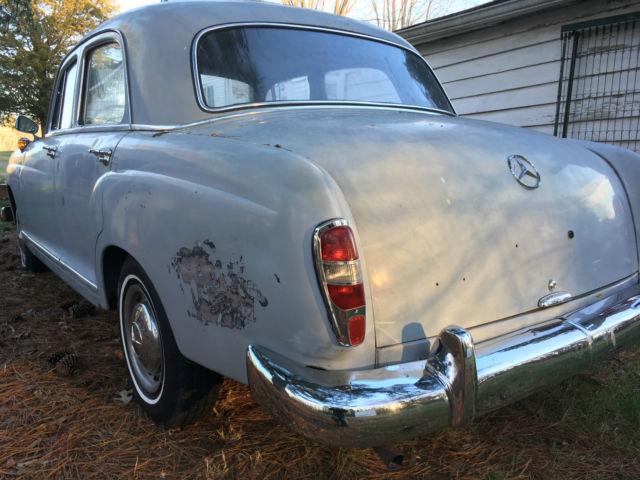 1961 mercedes 190d ponton for sale mercedes benz 190 for Mercedes benz 190d for sale