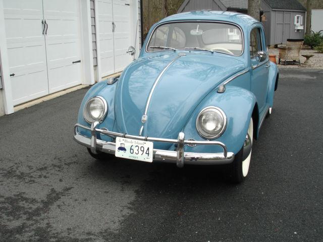 1961 Vw Beetle Total Restoration For Sale