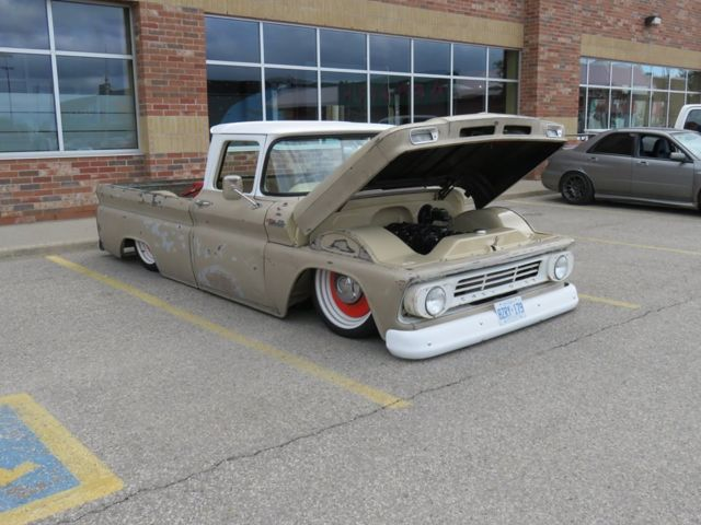 1962 C10 Chevy Pickup Porterbuilt Suspension Ridetech