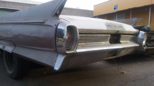 1962 Cadillac Eldorado Biarritz NICE SOLID PROJECT OR PARTS CAR 1961