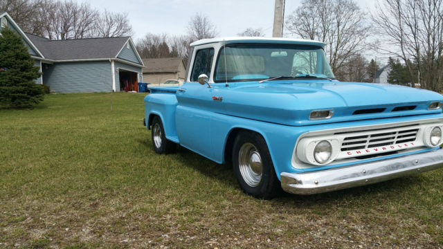1962 Chevy C 10 Stepside Short Bed For Sale Chevrolet C