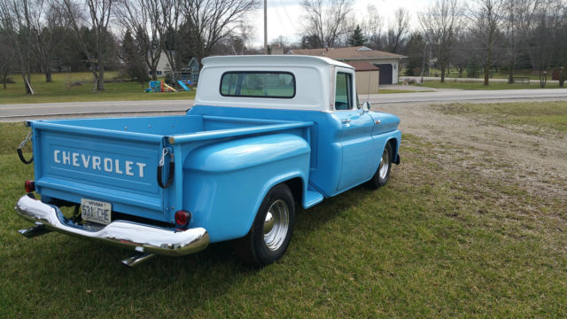 1962 chevy c 10 stepside short bed for sale chevrolet c 10 1962 for sale in flint michigan. Black Bedroom Furniture Sets. Home Design Ideas