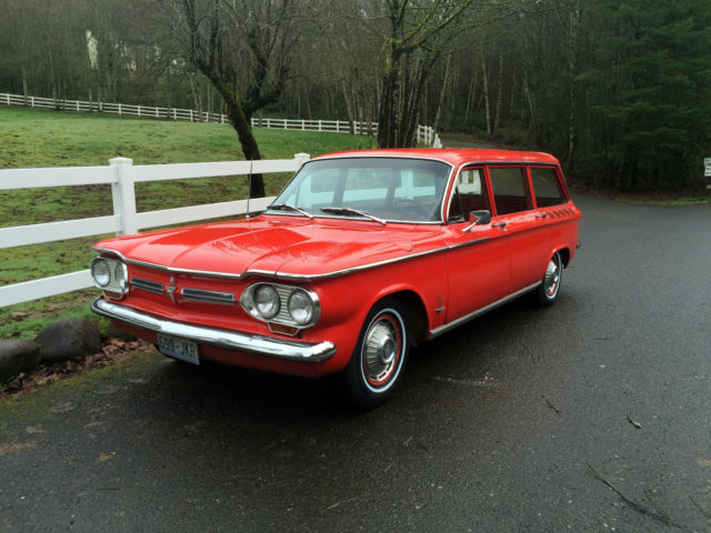 1962 chevy corvair monza station wagon 2 owners very rare for Factory motor parts portland