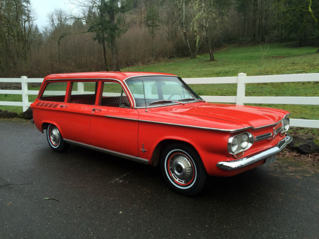 1962 chevy corvair monza station wagon 2 owners very rare for sale chevrolet corvair monza. Black Bedroom Furniture Sets. Home Design Ideas