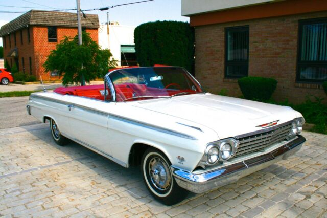 1962 Chevy Impala Ss Convertible 409