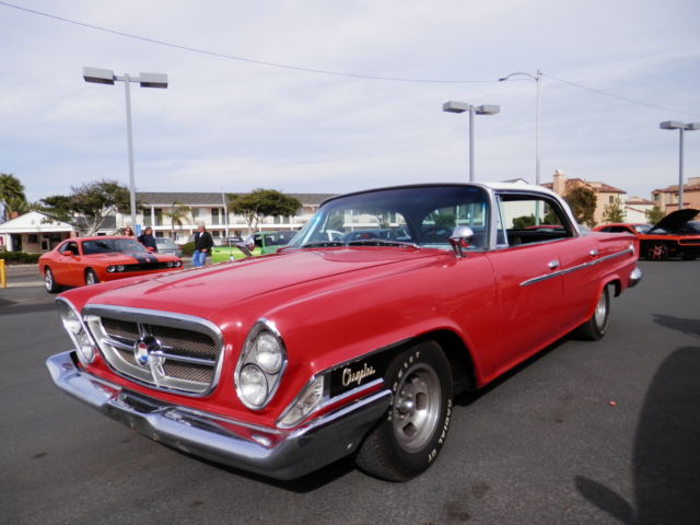 1962 chrysler 300 red hardtop sedan 383 auto clean low miles cal car rust free for sale. Black Bedroom Furniture Sets. Home Design Ideas