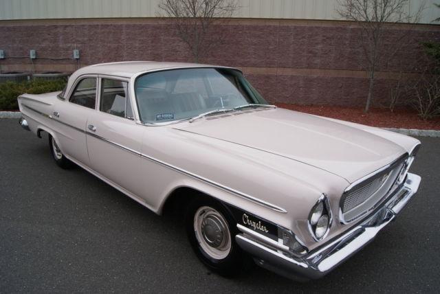 1962 chrysler newport promotional vehicle 41k miles. Black Bedroom Furniture Sets. Home Design Ideas