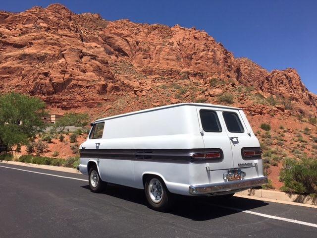 1962 Corvair Panel Van For Sale Chevrolet Corvair Corvan