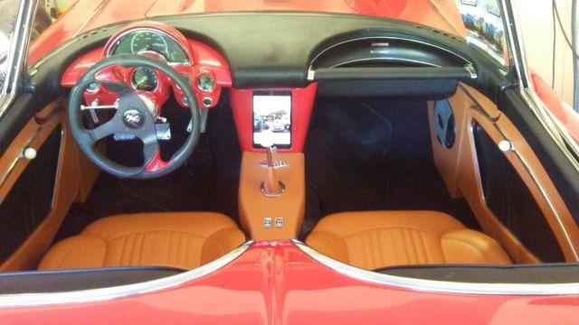 1962 Corvette Restomod LS6 t56 c4 suspension rod updated