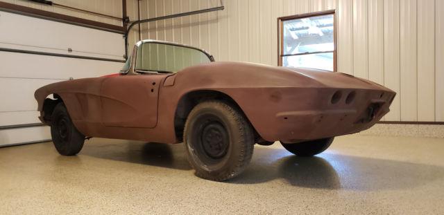 1962 Corvette Restomod Project Pro Touring 62 Vette Roadster Hot Rod