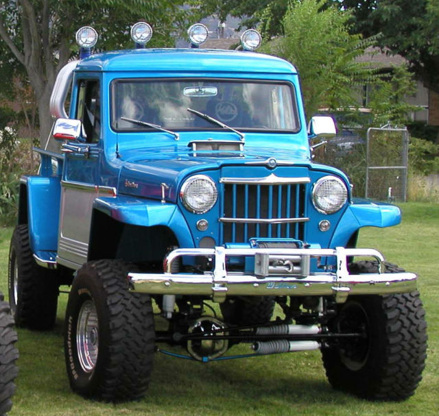 1962 Custom Willys Jeep 4x4 Truck For Sale