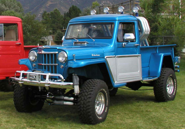 1962 custom willys jeep 4x4 truck for sale willys 1962 for sale in salt lake city utah. Black Bedroom Furniture Sets. Home Design Ideas