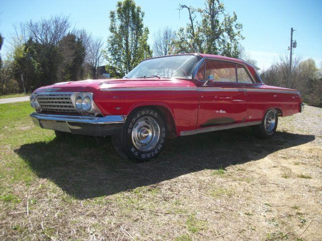 1962 impala 2 door hardtop ss clone patina rat rod no