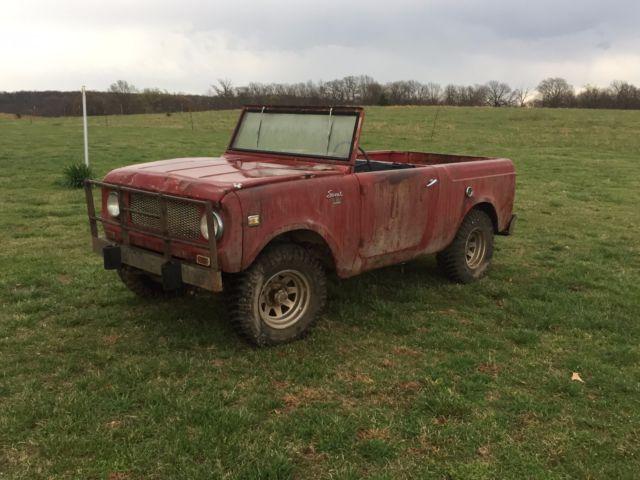 1962 International Harvester Scout 4x4