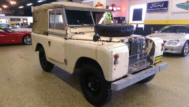 1962 land rover series ii a rhd drives well trades. Black Bedroom Furniture Sets. Home Design Ideas