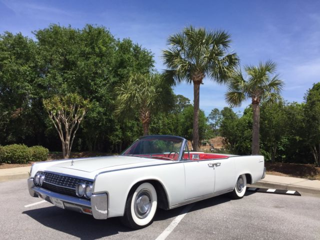 1962 Lincoln Continental Convertible 16k Miles For Sale Lincoln Continental 1962 For Sale In Destin Florida United States