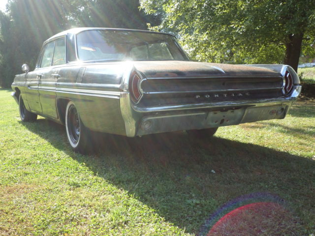 1962 PONTIAC CATALINA PARTS CAR PROJECT BARN GARAGE FIND