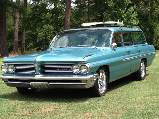 1962 pontiac catalina safari wagon 4 door for sale. Black Bedroom Furniture Sets. Home Design Ideas