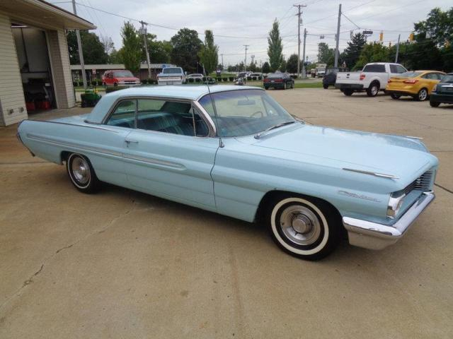 1962 pontiac catalina sport coupe 68655 miles blue 2 door. Black Bedroom Furniture Sets. Home Design Ideas