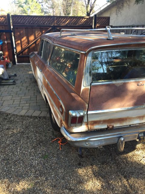 1962 Rambler Ambassador Station Wagon For Sale Amc Other