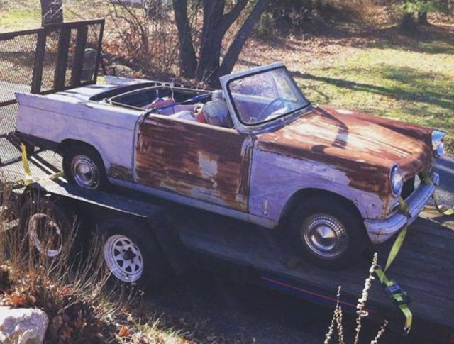 1962 triumph herald 1200 sports convertible for sale