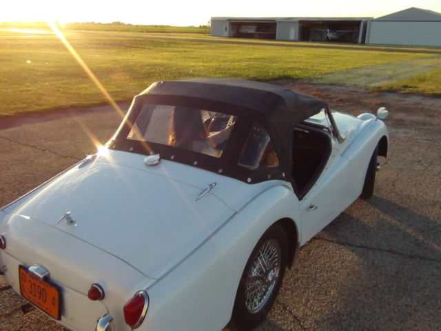 1962 Triumph TR3 Excellent Arizona/Texas Older Restoration