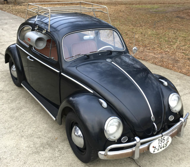 Vw Beetle Classic Car: 1962 VW Beetle, Wolfsburg, Bug, Very Original, Unrestored