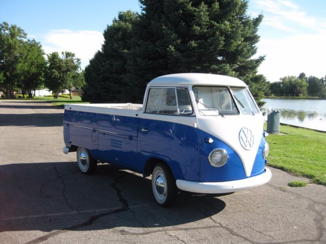 1962 vw single cab pickup truck for sale volkswagen bus vanagon 1962 for sale in eagle idaho. Black Bedroom Furniture Sets. Home Design Ideas