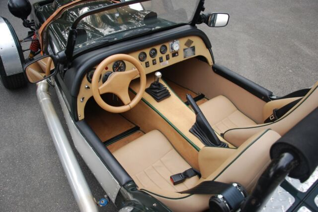 1962 Westfield SEight, rebuilt V8 power, 0-60: 4 seconds