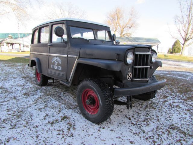 1962 willys jeep 4x4 tornado 230 rat rod for sale willys 439 1962 for sale in. Black Bedroom Furniture Sets. Home Design Ideas