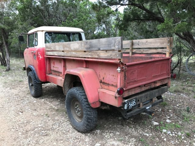 1962 willys jeep fc170 with dump bed and granny 4 spd for sale willys fc 170 1962 for sale in. Black Bedroom Furniture Sets. Home Design Ideas