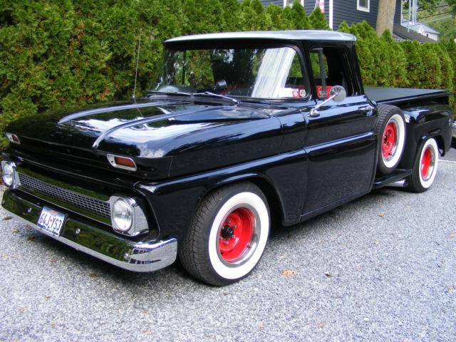 1963 1965 chevy stepside pickup truck hotrod streetrod custom for sale chevrolet other. Black Bedroom Furniture Sets. Home Design Ideas