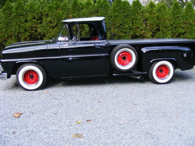 Chevy Stepside Pickup Truck Hotrod Streetrod Custom