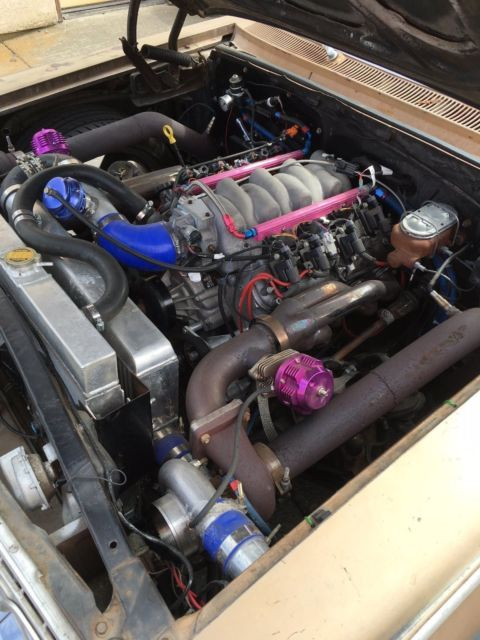 1963 biscayne 5 3 ls twin turbo like impala 2 dr ss for sale