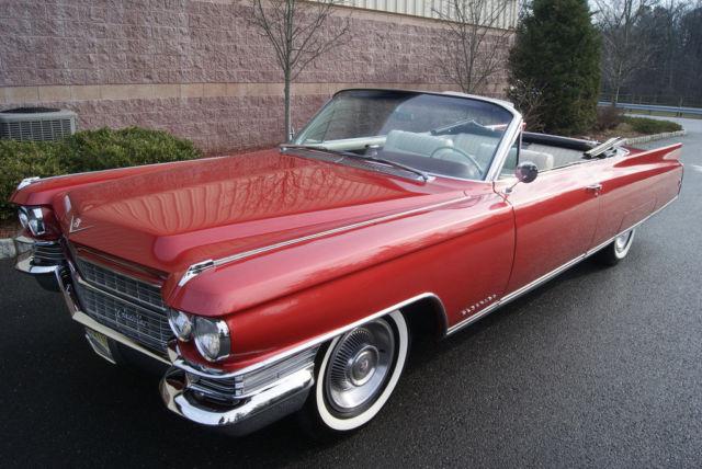 1963 Cadillac Eldorado Convertible Stunning Show Car