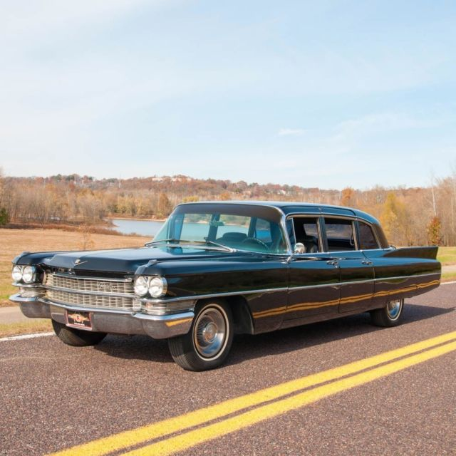 Cadillac V Series For Sale: 1963 Cadillac Series 75 Limousine, Custom Interior, Custom Audio, Rear AC&Heat For Sale