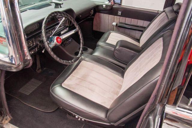 1963 cadillac series 75 limousine custom interior custom audio rear ac heat for sale. Black Bedroom Furniture Sets. Home Design Ideas
