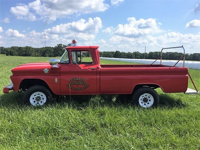 1963 chevrolet c20 3 4 ton 4x4 pickup local firetruck must see for sale chevrolet other. Black Bedroom Furniture Sets. Home Design Ideas