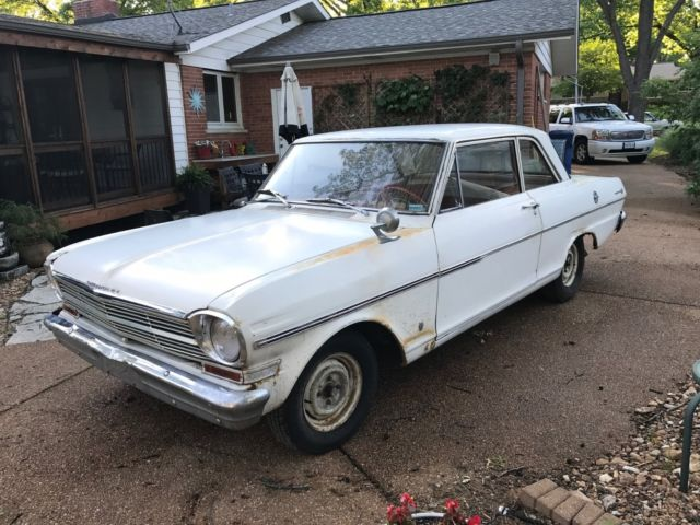 1963 chevrolet chevy ii garage find off road since 1977 for Garage chevrolet luxembourg
