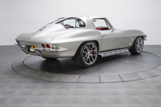 1963 chevrolet corvette 104 miles silver coupe 6 2l supercharged lsa v8 6 speed for sale