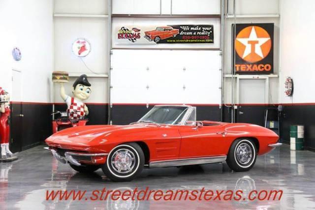 1963 Chevrolet Corvette 51814 Miles Riverside Red