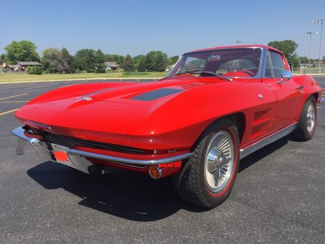 1963 chevrolet corvette split window coupe 327 340hp 4spd for 1963 corvette split window coupe for sale