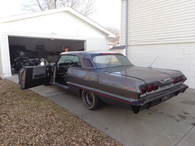 1963 Chevy Impala Complete Custom Resto Mod Ls Swap For