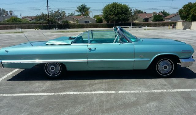1963 Chevy Impala Convertible For Sale Chevrolet Impala