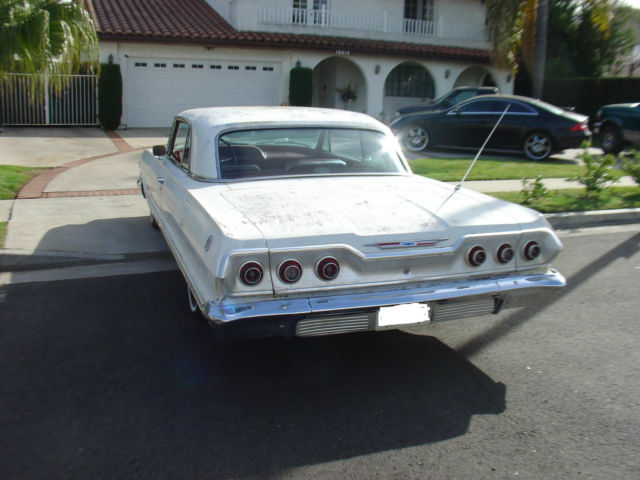 1963 chevy impala ss super sport 1964 1962 1965 for sale chevrolet impala 1963 for sale in los. Black Bedroom Furniture Sets. Home Design Ideas