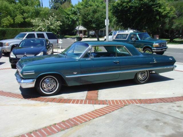 1963 Chevy Impala SS Super Sport Original paint 1958 1959 ...