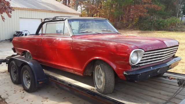 1963 Chevy Nova Convertible 2 Ss For Chevrolet In Duncan South Carolina United States