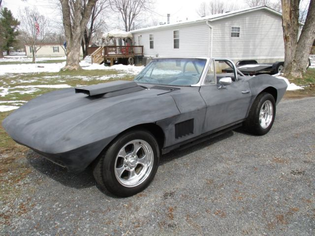 1963 corvette convertible stingray roadster hot rod customized project muscle for sale. Black Bedroom Furniture Sets. Home Design Ideas